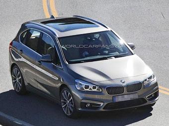 Фотошпионы раскрыли внешность первого BMW с передним приводом