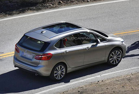 Серийный компактвэн BMW 1-Series GT дебютирует в Женеве