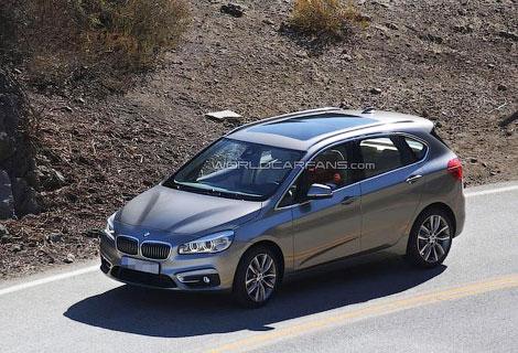 Серийный компактвэн BMW 1-Series GT дебютирует в Женеве. Фото 1