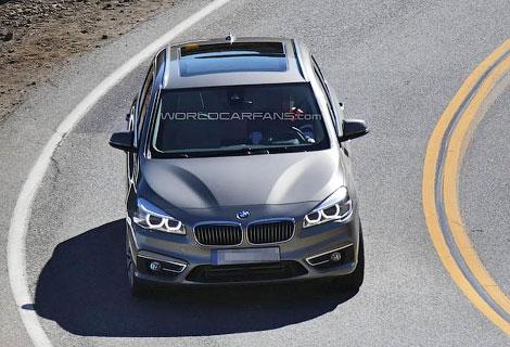 Серийный компактвэн BMW 1-Series GT дебютирует в Женеве. Фото 2
