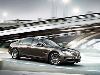 Спортивное отделение BMW решило заняться седаном M7