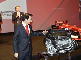 В Ferrari подарили Массе мотор его вице-чемпионской машины