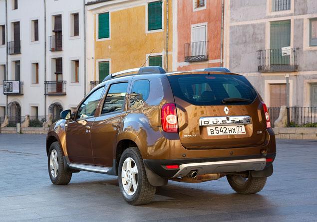 Пять фактов о полноприводном Renault Duster с «автоматом». Фото 6