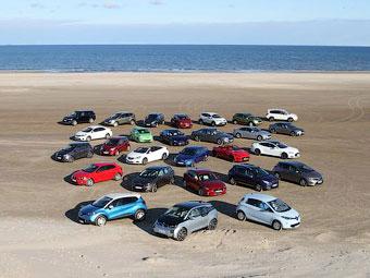 Объявлен шорт-лист претендентов на звание лучшей машины в Европе