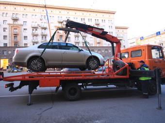 В Москве начнут эвакуировать автомобили с иностранными номерами