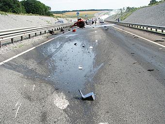 На платных дорогах Подмосковья появились аварийные комиссары