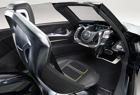Трехместный электромобиль BladeGlider появится в серии через три года. Фото 2