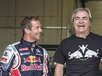 """Команда Peugeot пригласила Сайнса и Леба выступить на """"Дакаре"""""""