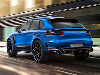 Представлен первый спорт-пакет для Porsche Macan