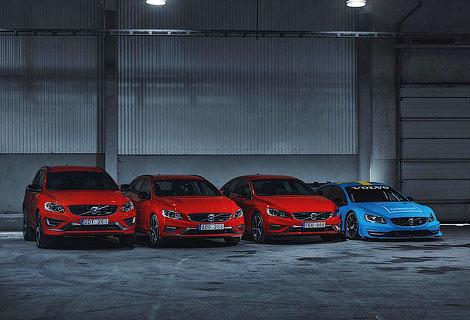 Volvo и Polestar подготовили особую модификацию S60, V60 и XC60. Фото 1