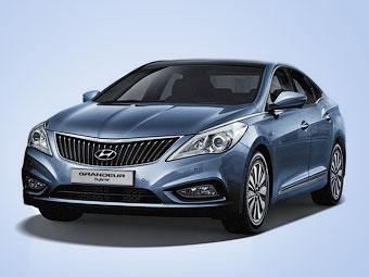 Седан Hyundai Grandeur получил гибридную версию