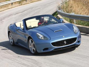 Мотор Ferrari California потеряет пол-литра рабочего объема