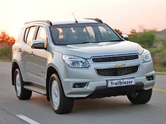 Chevrolet Trailblazer подешевел на 155 тысяч рублей