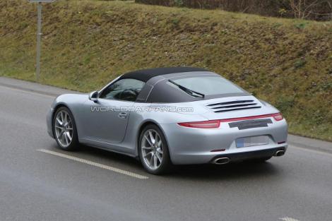 Porsche 911 Targa дебютирует в Детройте