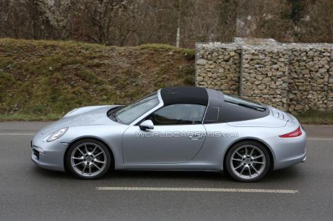 Porsche 911 Targa дебютирует в Детройте. Фото 1