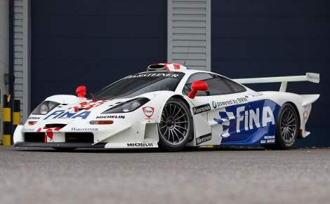На торги выставят McLaren F1 GTR Longtail для кузовной серии FIA GT. Фото 1