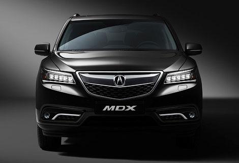 Acura MDX получит в России один мотор и две комплектации. Фото 1