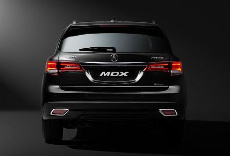 Acura MDX получит в России один мотор и две комплектации. Фото 4
