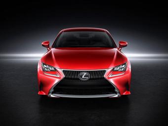 Lexus разработал для купе RC четырехслойную окраску кузова