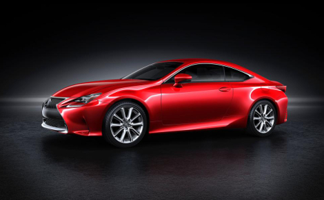 Lexus представил новый цвет для купе RC
