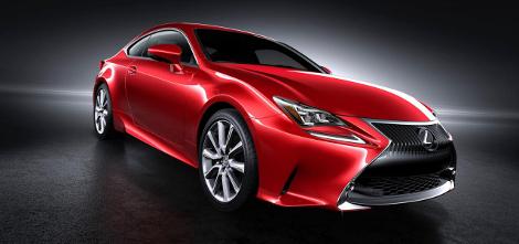 Lexus представил новый цвет для купе RC. Фото 2
