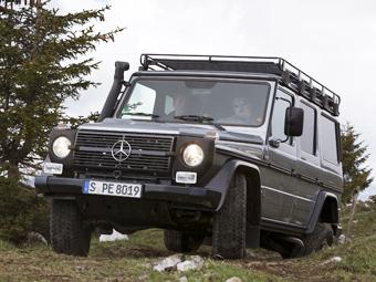 "Mercedes-Benz откажется от ""аскетичного"" G-Class"