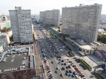 Московские дороги назвали третьими по безопасности в России
