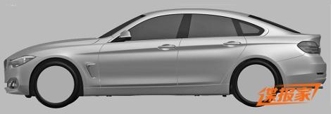BMW 4-Series Gran Coupe построят на платформе хэтчбека 3-Series GT
