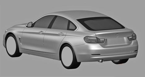 BMW 4-Series Gran Coupe построят на платформе хэтчбека 3-Series GT. Фото 1