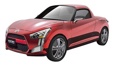 Три модификации прототипа Kopen представят на автосалоне в Токио