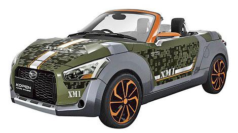 Три модификации прототипа Kopen представят на автосалоне в Токио. Фото 1