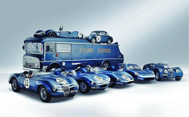 Самые удивительные грузовики, перевозившие гоночные автомобили. Фото 7