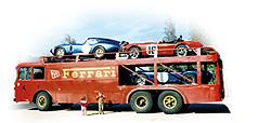 Самые удивительные грузовики, перевозившие гоночные автомобили. Фото 14