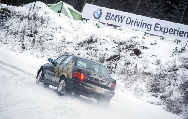 Чему учат в раллийной школе BMW. Фото 11