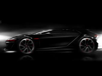 Volkswagen подготовил хэтчбек для гоночного симулятора