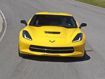 Chevrolet Corvette научат записывать телеметрию на треках