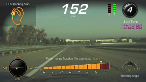Владельцы суперкара смогут изучить свою манеру езды по гоночным трассам