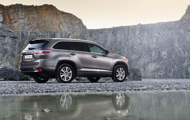 Какое место в модельном ряду Toyota займет Highlander нового поколения