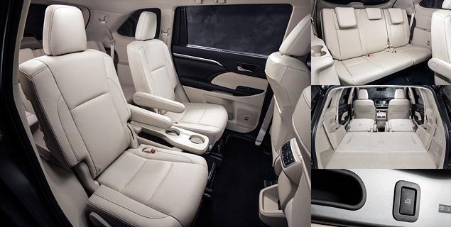 Какое место в модельном ряду Toyota займет Highlander нового поколения. Фото 4