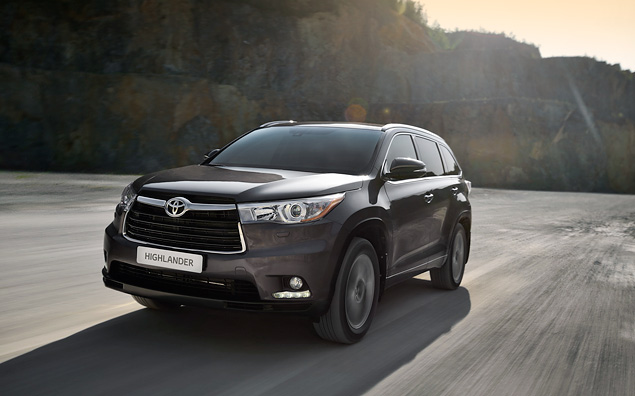 Какое место в модельном ряду Toyota займет Highlander нового поколения. Фото 5