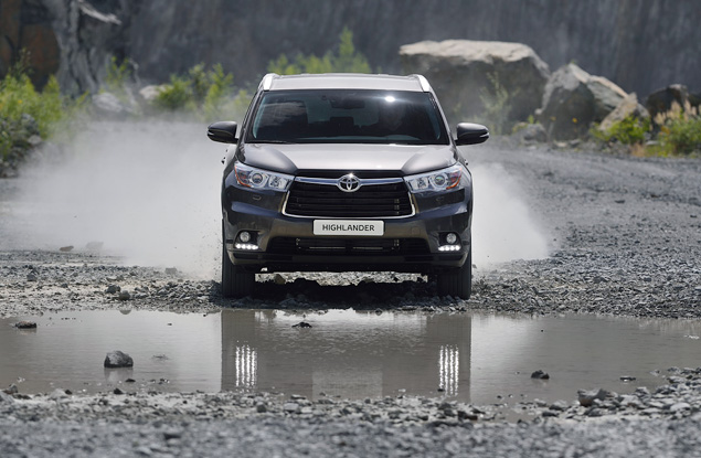 Какое место в модельном ряду Toyota займет Highlander нового поколения. Фото 7