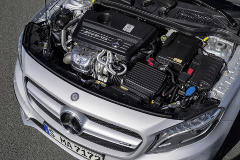 "Mercedes-Benz GLA 45 AMG наберет ""сотню"" за 4,8 секунды"