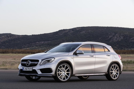 "Mercedes-Benz GLA 45 AMG наберет ""сотню"" за 4,8 секунды. Фото 1"