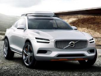 Компания Volvo показала предвестника кроссовера XC90 нового поколения