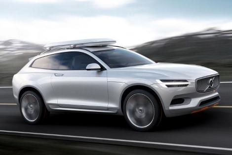 Концептуальный вседорожник Volvo XC Coupe дебютирует в Детройте