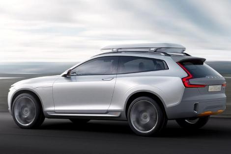 Концептуальный вседорожник Volvo XC Coupe дебютирует в Детройте. Фото 1