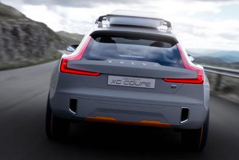 Концептуальный вседорожник Volvo XC Coupe дебютирует в Детройте. Фото 2