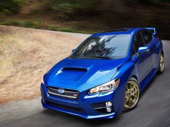 Появились фотографии Subaru WRX STI следующего поколения