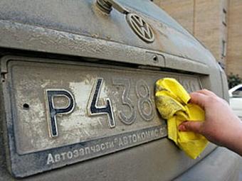 Московские камеры смогут распознавать грязные и иностранные номера