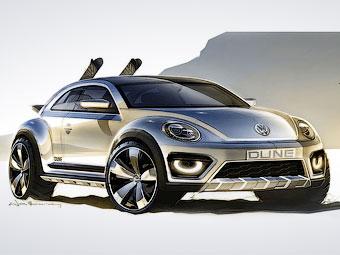 """Volkswagen сделал внедорожный """"Жук"""""""